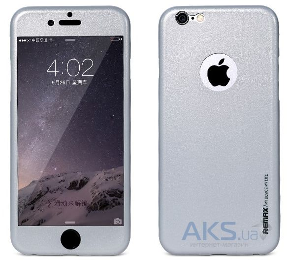 Чехол Remax Pericarp Series Apple iPhone 6, iPhone 6S Gray