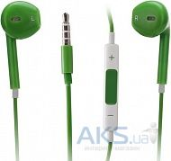 Гарнитура для телефона Apple EarPods with Remote and Mic (MD827) High Copy Green