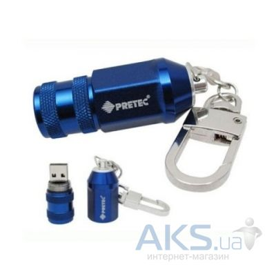 Флешка Pretec Racing Nut 16Gb blister package RAN16G-B Blue