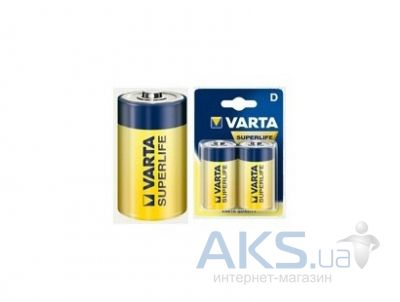 Элемент питания Varta D (R20) SuperLife  1шт