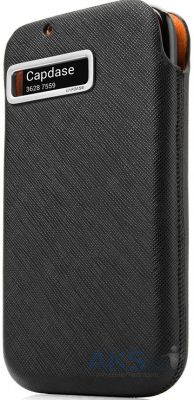 Чехол Capdase id Pocket Value Set Luxe Black/Black for Samsung Galaxy Note II N7100 (DPSGN7100-V611))