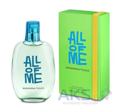 Mandarina Duck All of Me for Him Туалетная вода 30 мл