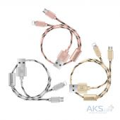 Вид 3 - Кабель USB Baseus Portman series 2 Lightning Cable Tyrant Gold