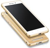 Чехол MSVII Metal Series Xiaomi Redmi 3 Gold