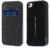 Чехол Mercury Viva Window series для Apple iPhone 4/4S Black