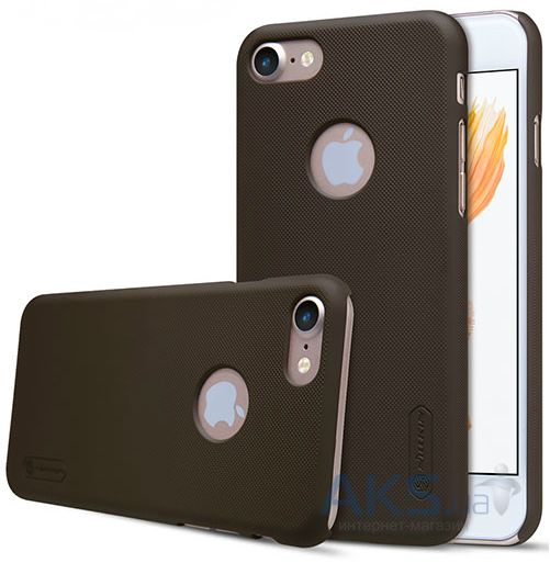 Чехол Nillkin Super Frosted Shield Apple iPhone 7 Brown