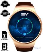 Умные часы SmartYou S1 Gold with Brown strap (SWS1G)