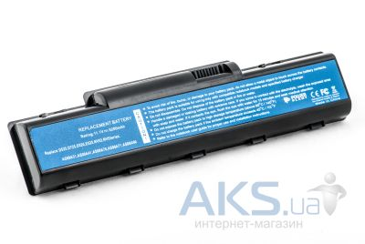 Аккумулятор для ноутбука Acer Aspire 4732 (AS09A31 ,ARD725LH) 11.1V 5200mAh (NB00000101) PowerPlant Black
