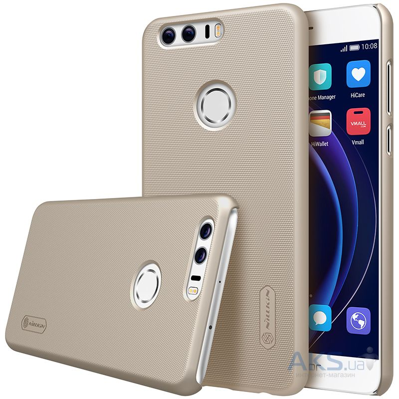 Чехол Nillkin Super Frosted Shield Huawei Honor 8 Gold