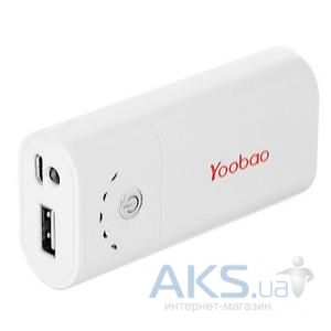 Внешний аккумулятор Yoobao Power Bank 3400 mAh Bright Moon YB-620 [PBYB620]