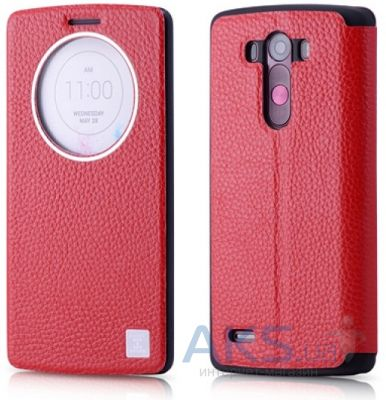 Чехол Xoomz Litchi Pattern Leather LG Optimus G3 D850 Red