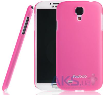 Чехол Yoobao Crystal Protect case for Samsung i9500 Galaxy S IV Pink (PCSAMS4-CPK)