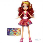 Игрушка Hasbro My Little Pony Equestria Girls School Spirit (B1769) Sunset Shimmer