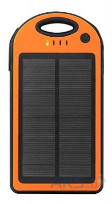 Внешний аккумулятор MANGO IPX6 waterproof solar,12000mAh Black/Orange