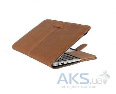 Чехол Decoded Leather Slim Cover MacBook Air 13 Brown (D4MA13SC1BN)