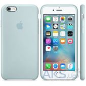 Вид 2 - Чехол Apple Silicone Case for iPhone 6S Turquoise (MLCW2)