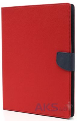 Чехол для планшета Mercury Fancy Diary Series Apple iPad 2, iPad 3, iPad 4 Red - Blue