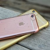 Вид 4 - Чехол Rock Meteor Series Apple iPhone 6 Plus, iPhone 6S Plus Gold