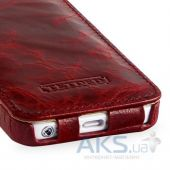 Вид 6 - Чехол TETDED Flip Lava Series Apple iPhone 5, iPhone 5S, iPhone SE Burgundy Red