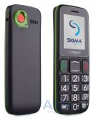 Мобильный телефон Sigma mobile Comfort 50 Mini3 Black/Green