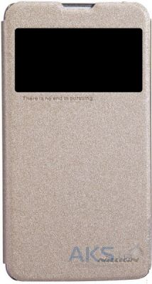 Чехол Nillkin Sparkle Leather Series LG Optimus G Pro Lite Golden