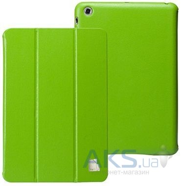 Чехол для планшета JustCase Leather Case For iPad mini Green (SS00011)