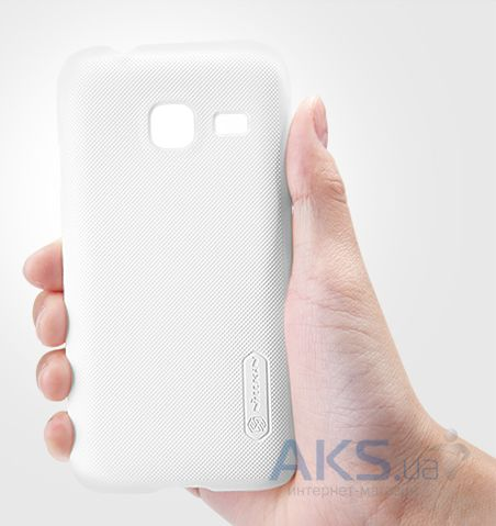 Вид 2 - Чехол Nillkin Super Frosted Shield Samsung J105 Galaxy J1 Mini White