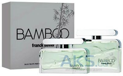 Franck Olivier Bamboo for Men Туалетная вода 75 ml