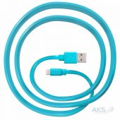 Кабель USB JUST Freedom Lightning USB (MFI) Cable Blue (LGTNG-FRDM-BL)