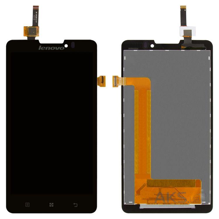 Дисплей (экран) для телефона Lenovo P780 + Touchscreen Original 8d3dcf2db65