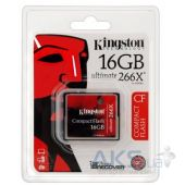 Вид 3 - Карта памяти Kingston Compact Flash Card 16GB 266x (CF/16GB-U2)