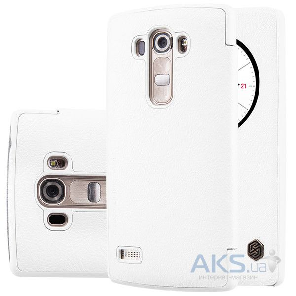 Чехол Nillkin Qin Leather Series LG G4s H734, H736 White