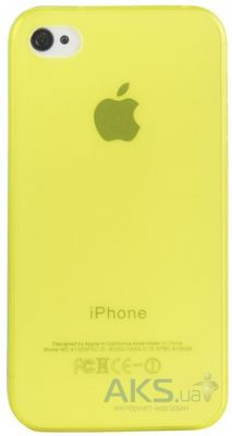 Чехол Perfektum UltraThin Case for Apple iPhone 4/4S Mate Yellow