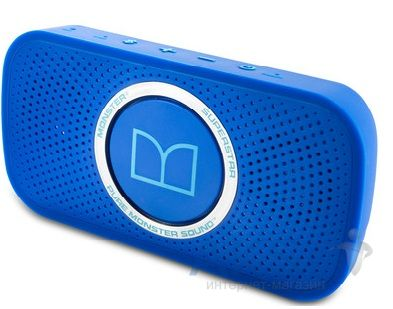 Колонки акустические Monster Superstar™ High Definition Bluetooth Speaker Neon Blue