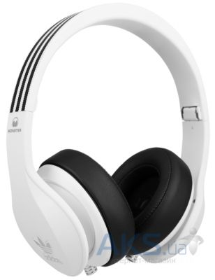 Наушники (гарнитура) Monster Adidas Originals by Monster® Over-Ear White