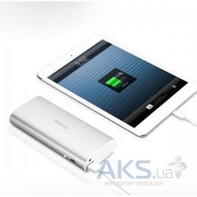 Внешний аккумулятор Yoobao Power Bank Magic Wand YB-6016, [PBYB6016SL] 13000 mAh Silver
