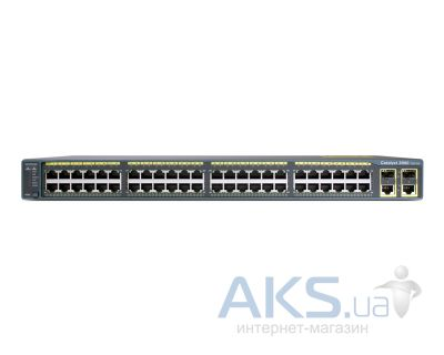 Коммутатор (свитч) Cisco WS-C2960-48TC-L