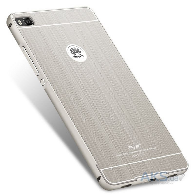 Чехол MSVII Metal Series Huawei Ascend P8 Lite Silver