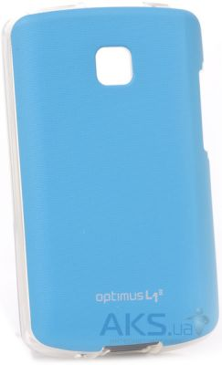 Чехол VOIA Jelly Skin for LG Optimus L1 II E410 Blue