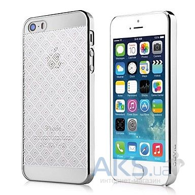 Чехол Devia Glimmer Brocade Apple iPhone 5, iPhone 5S, iPhone SE Silver