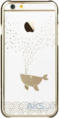 Чехол Devia Bublle Fish для Apple iPhone 6/6S Champagne Gold