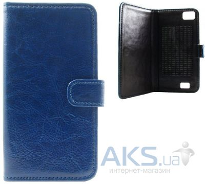 Чехол Book Cover Sticker Lenovo S580 Blue