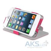 Вид 2 - Чехол ITSkins Plume Artificial for iPhone 5/5S Pink (APH5-PLUME-PINK)
