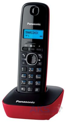 Радиотелефон Panasonic Dect KX-TG1611UAR Black Red