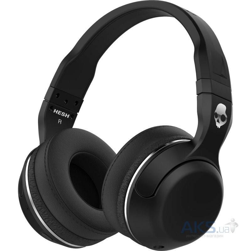 Наушники (гарнитура) Skullcandy HESH 2 Wireless Black/Black/Gunmetal (S6HBGY-374)