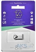 Флешка T&G 8GB 106 Metal Series Silver (TG106-8G)