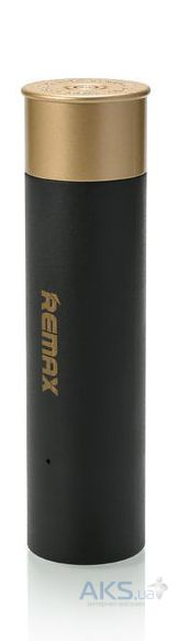 Повербанк power bank Remax Shell (RPL-18) 2500 mAh Black