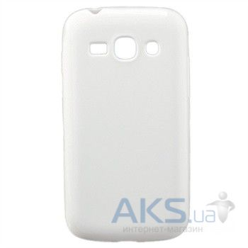 Чехол Celebrity TPU cover case for Samsung  S7270 Galaxy Ace 3 White