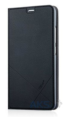 Чехол MSVII Leather Stand Series Meizu M3 Note Black