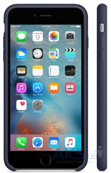Чехол Apple Silicone Case Apple iPhone 7 Plus, iPhone 8 Plus Midnight Blue_HC - фото 2